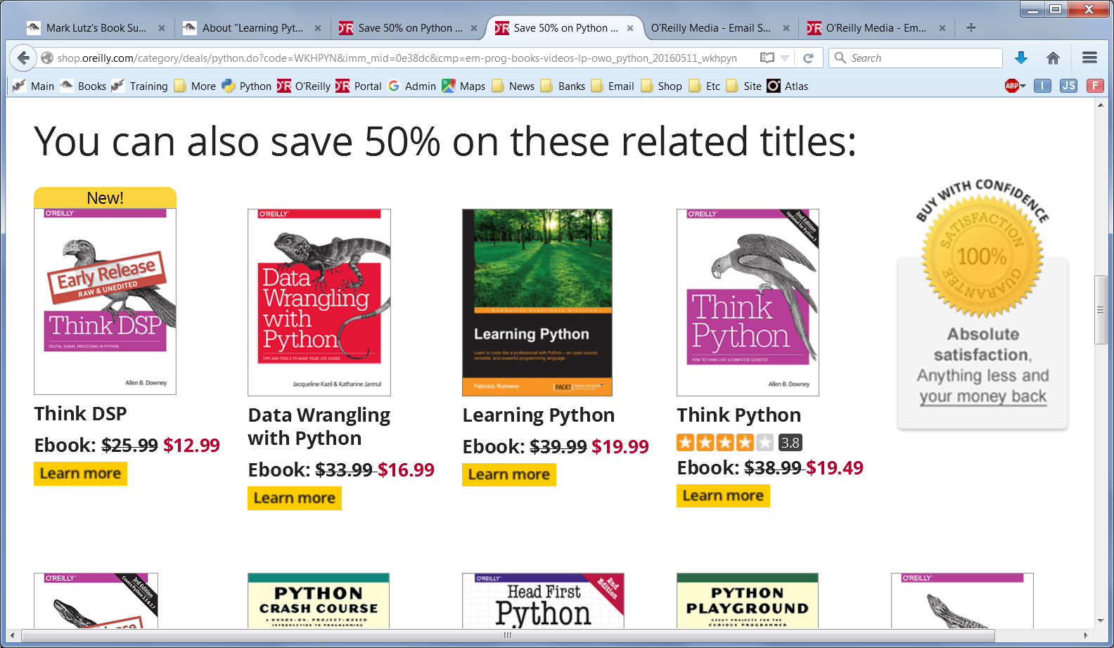 Teaching python by mark lutz publishers learning python late in 2015 in a curious and arguably misguided quest to maximize revenue while this move may or may not have harmed my fandeluxe Images