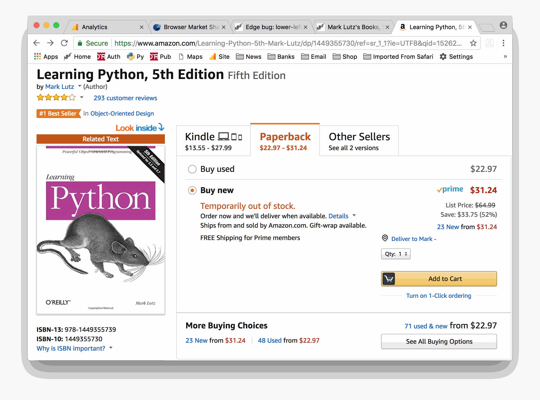 book tradução