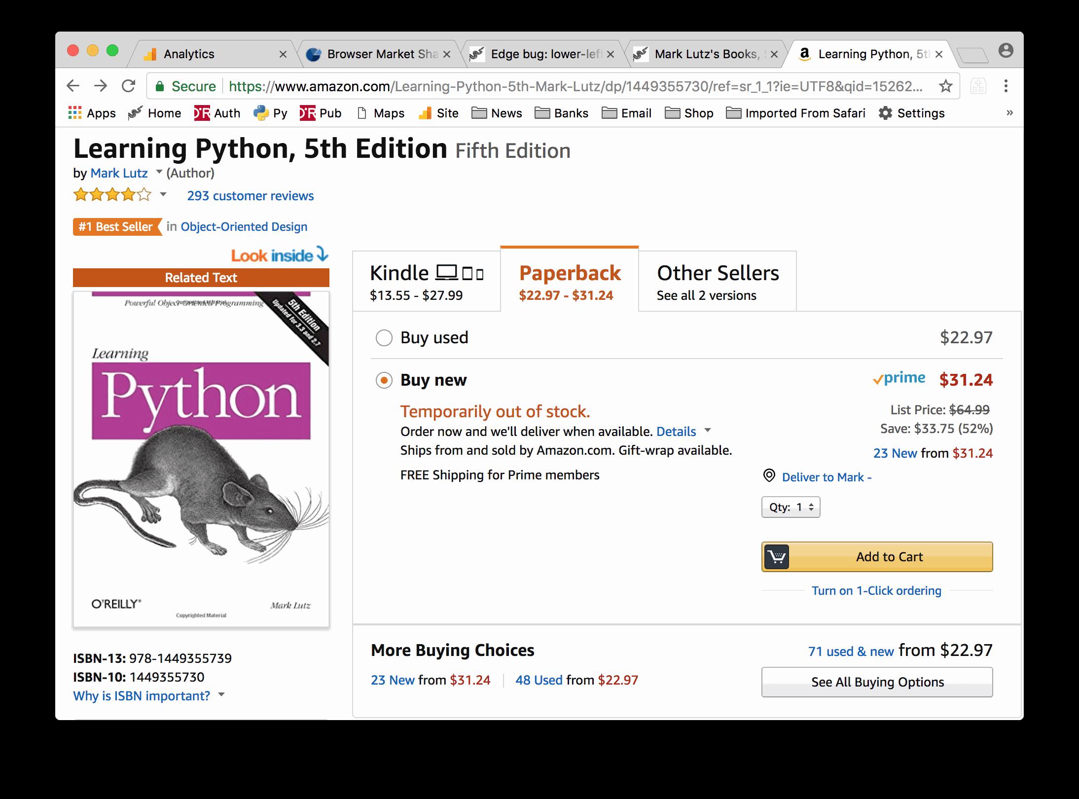 mark lutz learning python 6th edition pdf