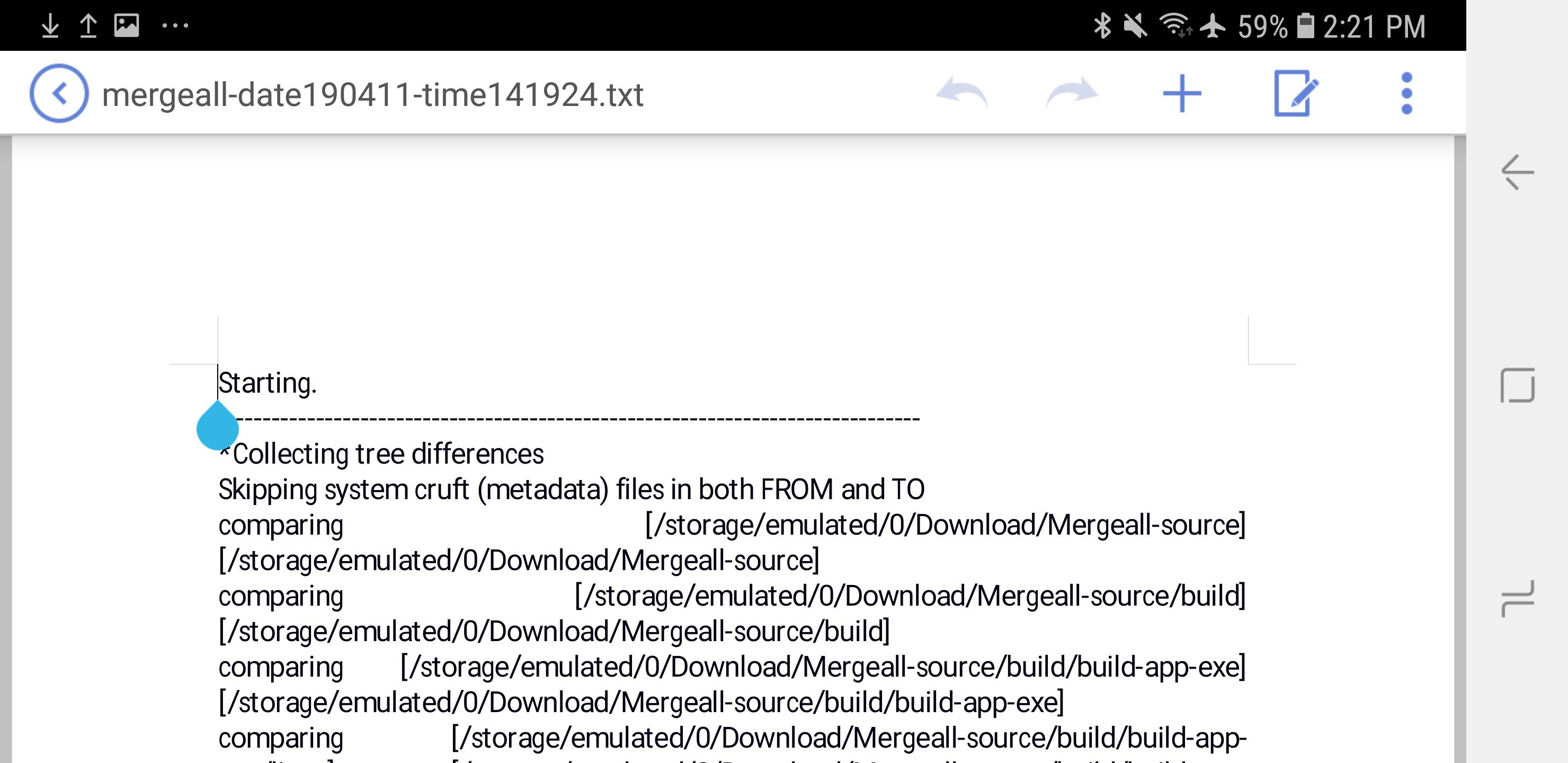 Using Mergeall on Android with Termux (and Pydroid 3)