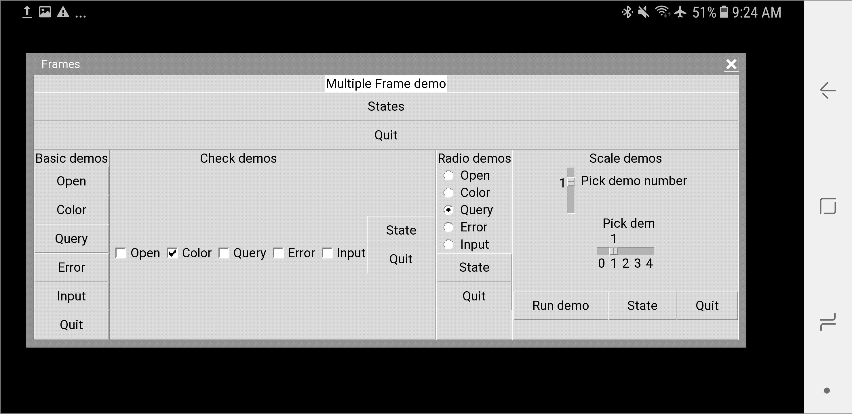 Tkinter Optionmenu Configuration